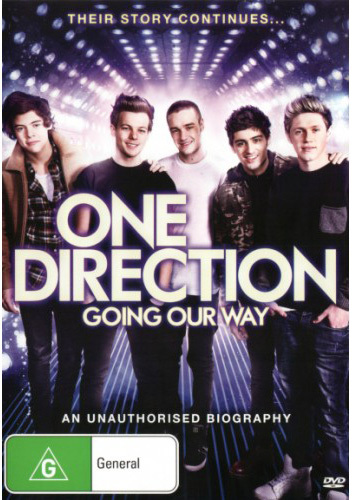 One Direction: Going Our Way on DVD image