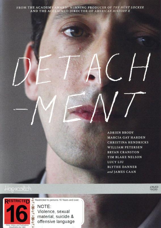 Detachment on DVD