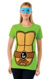 TMNT Leonardo Costume T-Shirt & Mask (Medium)