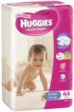 Huggies Nappies Bulk - Crawler Girl 6-11kg (44)