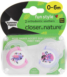 Closer to Nature Fun Style Soother 0-6 Months (Bird & Possum)