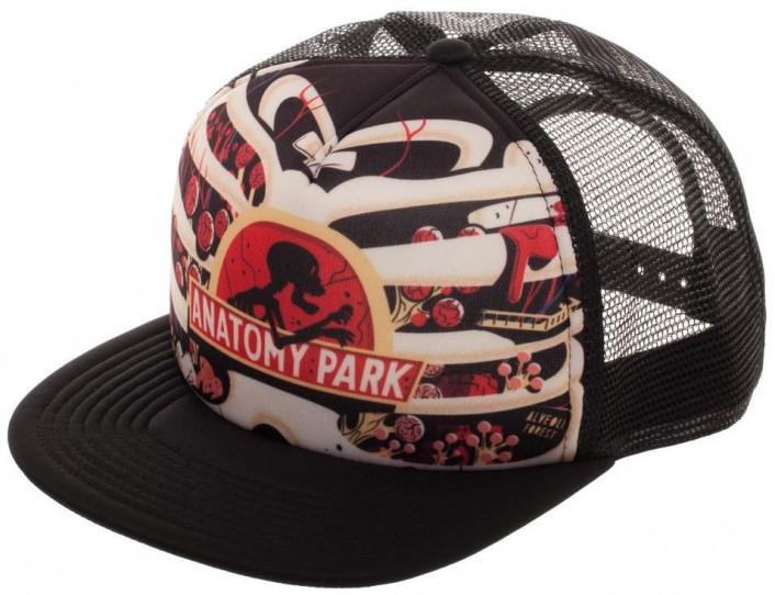 Rick and Morty Anatomy Park Trucker Cap image