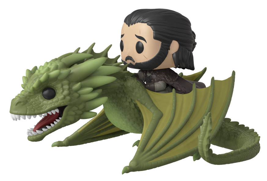 Game of Thrones - Jon Snow & Rhaegal Pop! Rides Set image