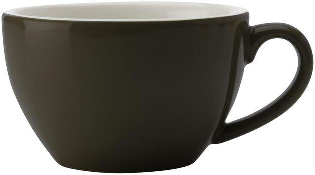 Maxwell & Williams Cafe Culture Cappuccino Cup - Black (200ml)