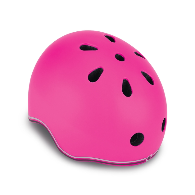 Globber: Protective Helmet with LED - Toddler XS (Deep Pink)