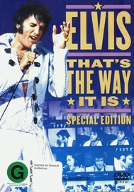 Elvis:  That's The Way It Is on DVD image