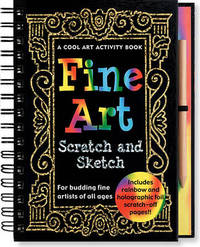 Scratch and Sketch Fine Art Activity Book by Virginia Reynolds