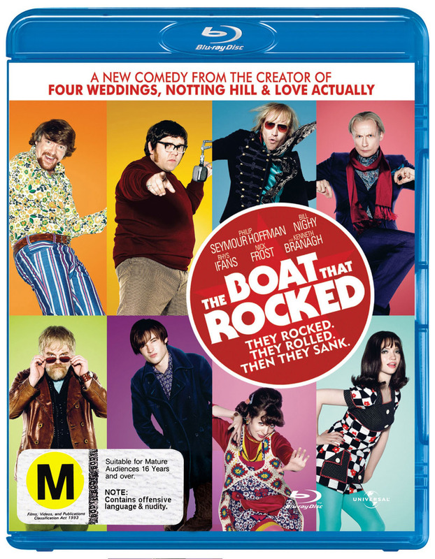 The Boat That Rocked on Blu-ray