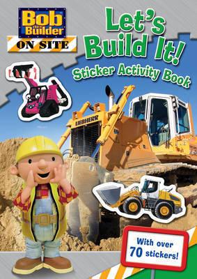 Let's Build It! Sticker Activity Book