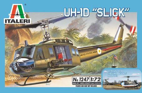 Italeri RNZAF UH-1D Slick - 1:72 Model Kit