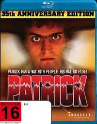 Patrick: 35th Anniversary Edition on Blu-ray