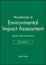 Handbook of Environmental Impact Assessment