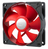 Deepcool: Ultra Silent 92mm Ball Bearing Case Fan - Red