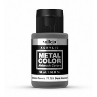 Vallejo Metal Colour Dark Aluminium (32ml)