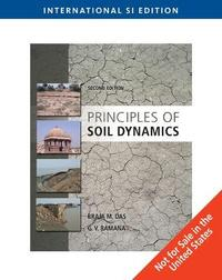 Principles of Soil Dynamics by Braja M Das
