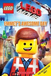 Emmet's Awesome Day (Lego: The Lego Movie) by Anna Holmes