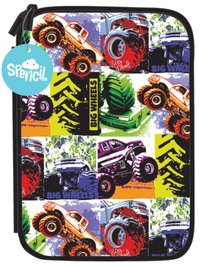 Spencil: Big Wheels II - Hardhead Pencil Case