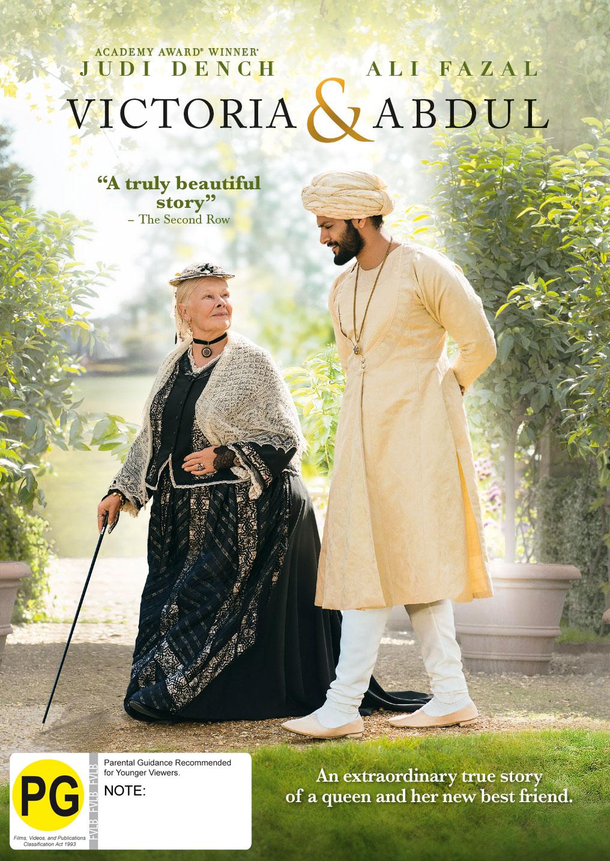 Victoria & Abdul on DVD image