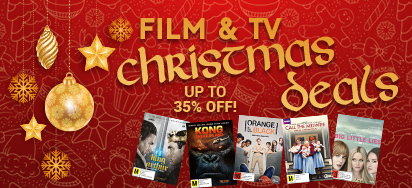 Up to 35% off Film & TV for Christmas!