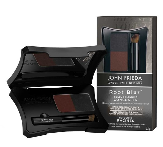 John Frieda Root Blur Brunette - Dark Espresso / Black