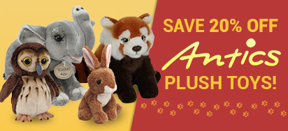 20% off Antics Plush!