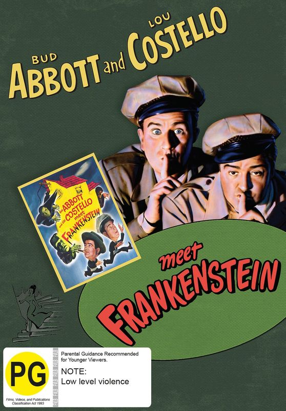 Abbott And Costello Meet Frankenstein on DVD