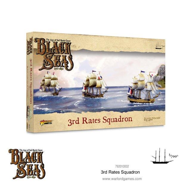 Black Seas: 3rd Rates Squadron (1770 - 1830)