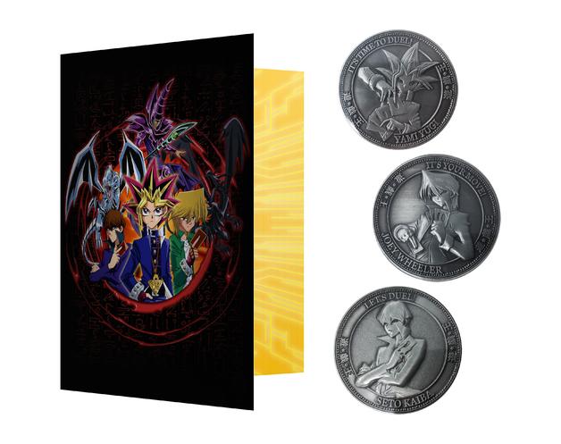 Yu-Gi-Oh! - Collectable Coin Set + Album