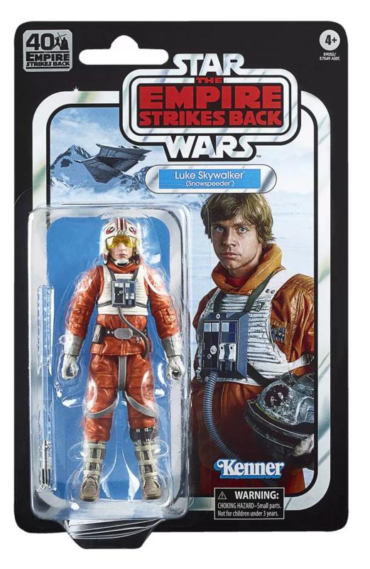 Star Wars: The Black Series Vintage Figure - Luke Skywalker (Snowspeeder)