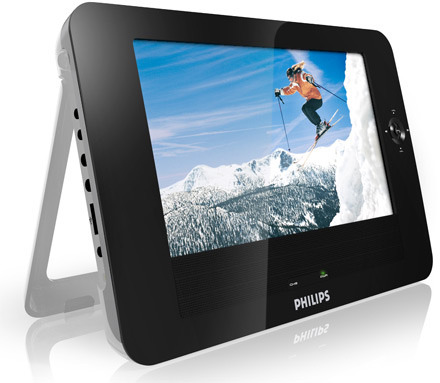 "Philips PET830 8.5"" Tablet Portable DVD Player"