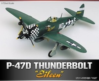 "Academy P-47D Thunderbolt ""Eileen"" 1/72 Model Kit image"