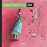 Gaelle Boissonnard 2018 Mini Wall Calendar