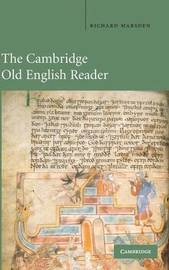 The Cambridge Old English Reader by Richard Marsden image