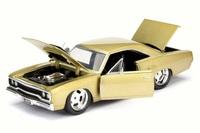 Jada: 1/24 1970 Plymouth Road Runner (Gold) - Diecast Model