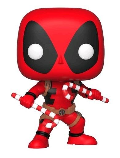 Marvel Holidays - Deadpool (Candy Canes Ver.) Pop! Vinyl Figure image