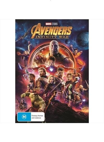 Avengers: Infinity War on DVD