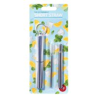 IS GIFT The Extendable Short Straw & Brush Set