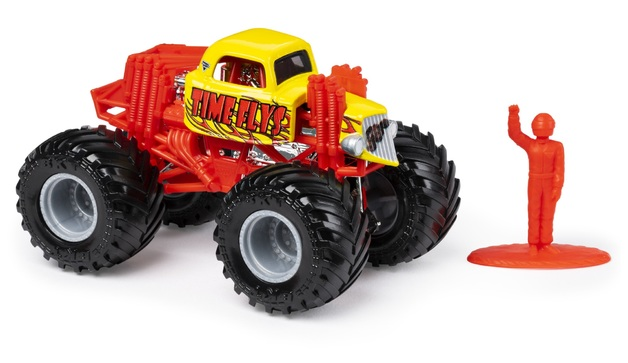 Monster Jam: 1:64 Scale Diecast Truck - Time Flys