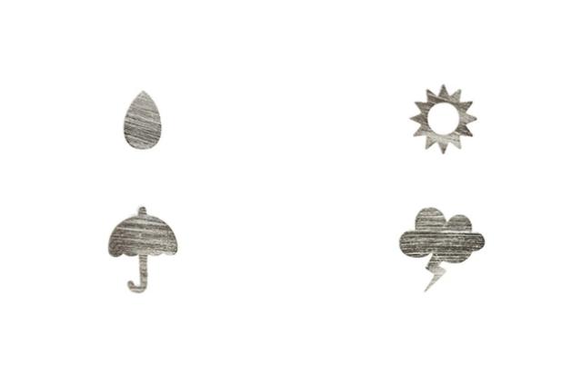 Short Story: Four Seasons Earrings - Silver