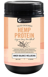 Nutra Organics Hemp Protein - Salted Cacao Maca (500g)