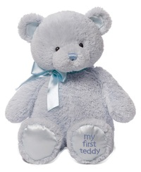 Gund: My First Teddy - Blue