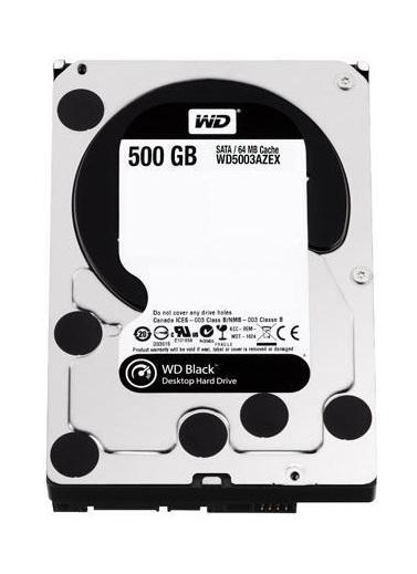 "500GB WD Black - 3.5"" Performance HDD (7200RPM) image"