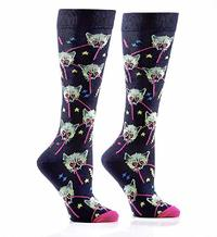 Women's Knee High Socks - Lazer Cats image