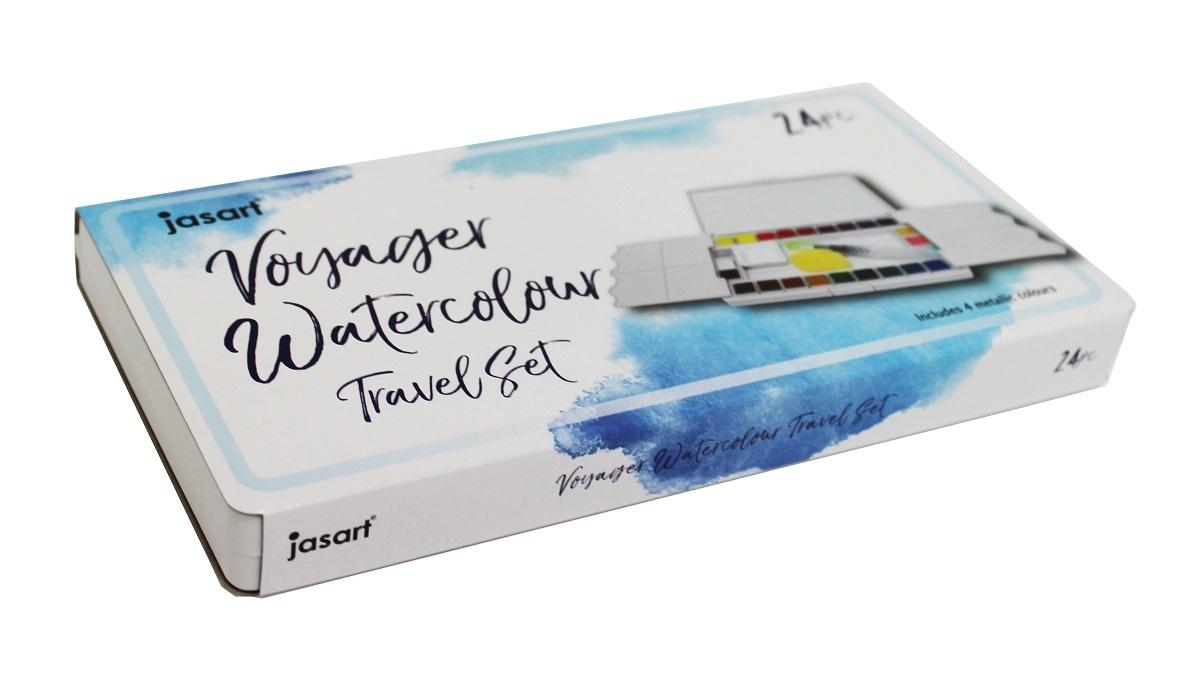 Jasart: Voyager Watercolour Travel Set (24) image