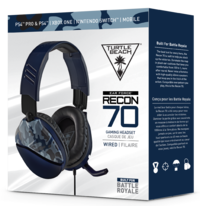 Turtle Beach Ear Force Recon 70 Gaming Headset - Blue Camo for PS4 image