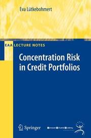 Concentration Risk in Credit Portfolios by Eva Lutkebohmert image
