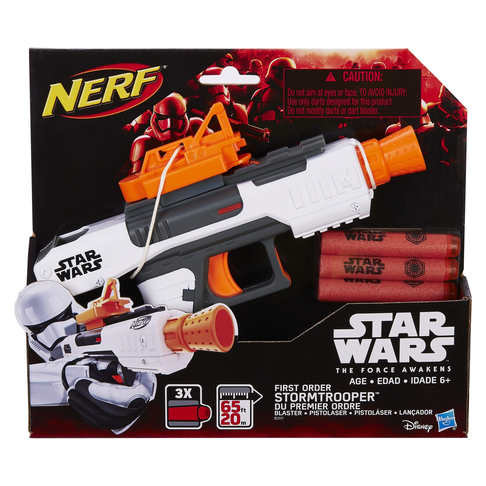 Star Wars Nerf: Episode VII First Order Stormtrooper Blaster image