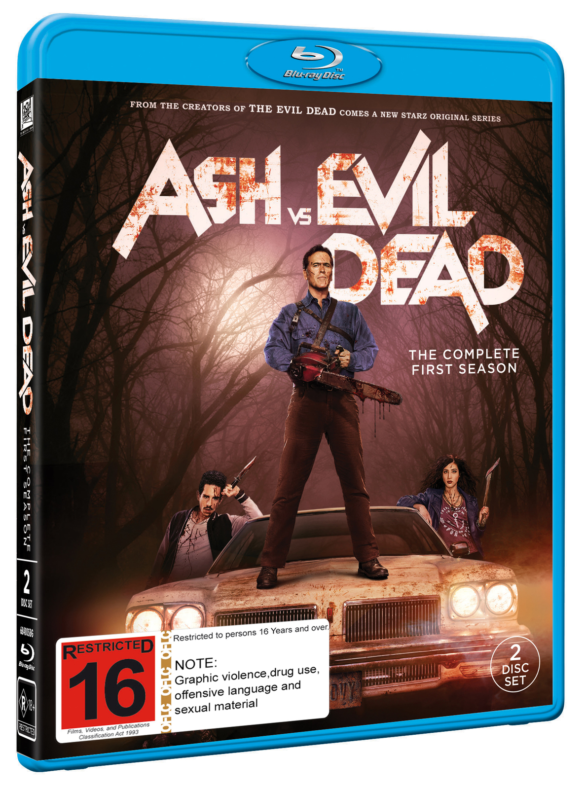 Ash Vs Evil Dead - The Complete First Season on Blu-ray image