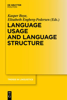 Language Usage and Language Structure