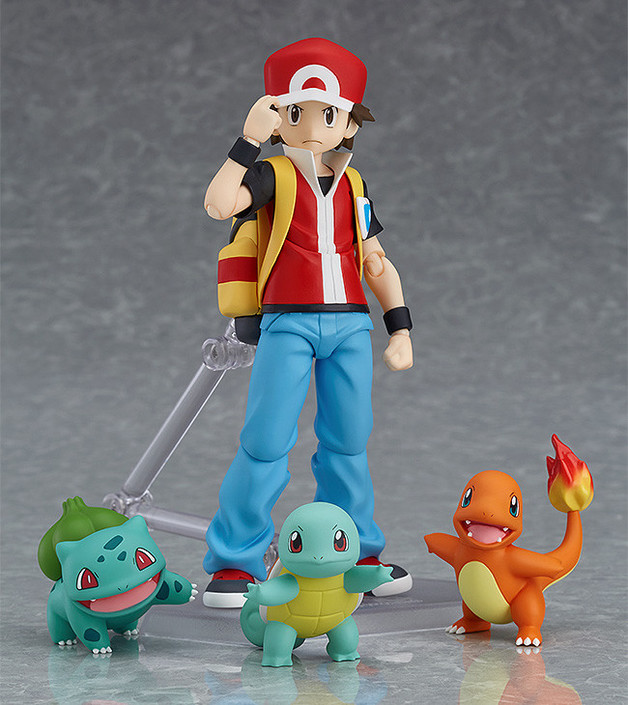 Figma Pokemon: Trainer Red - Action Figure